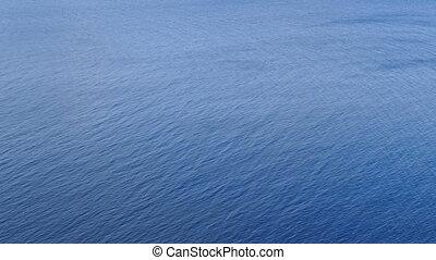 ondulation bleue, eau mer, fond