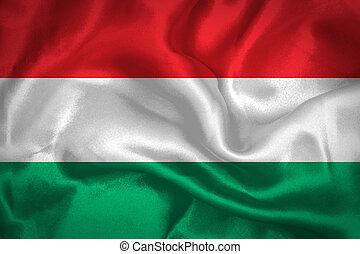 onduler, drapeau hongrie