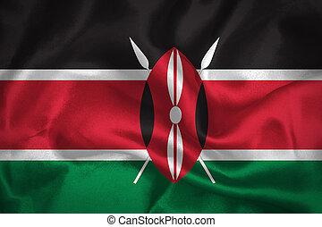 onduler, drapeau kenya