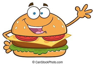 onduler, hamburger, salutation