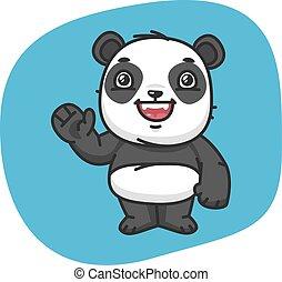 onduler, panda, patte