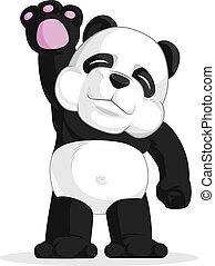 onduler, sien, panda, main