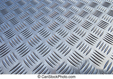 one after another - structure of a steel plate