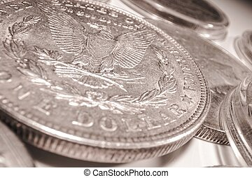 One American Dollar Coin