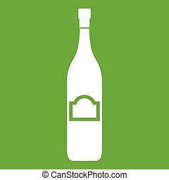 One bottle icon green