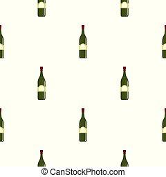 One bottle pattern seamless