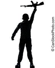 revolutionary army soldier man - one caucasian revolutionary...