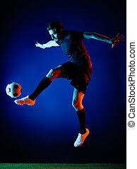 Soccer player Man