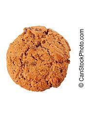 One chocolate cookie