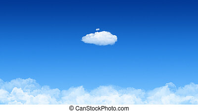 One Cloud With Cloudscape Concept