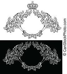One Color Royal Frames