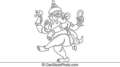 happy ganesh indian culture
