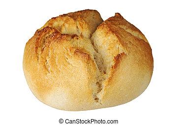 One crusty bread roll