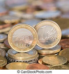 One Euro coin Estonia