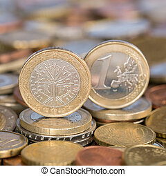 One Euro coin France