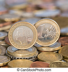 One Euro coin Netherlands