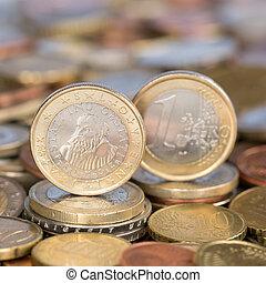 One Euro coin Slovenia