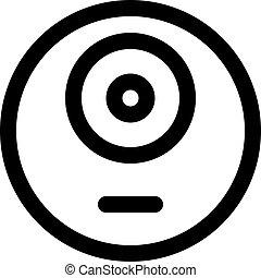 one eye monster emoji