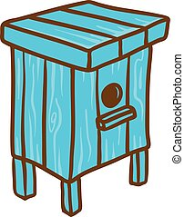 One family beehive icon, hand drawn style - One family...