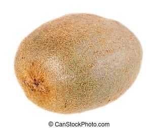 One full fruit of kiwi