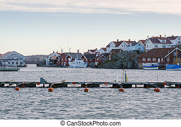 one harbour in sweden on the westcoast