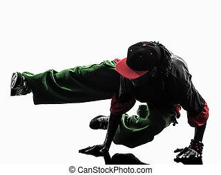 hip hop acrobatic break dancer breakdancing young man ...