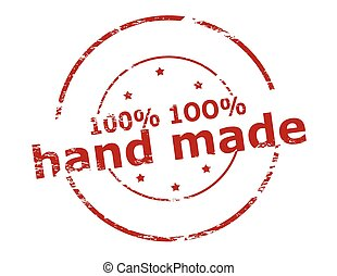 One hunder percent hand made