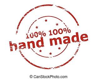 One hunder percent hand made