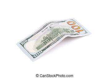 One hundred dollar bill.