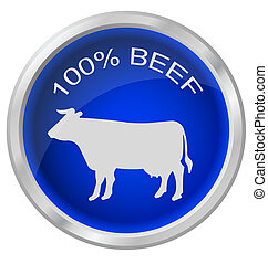 One hundred percent beef