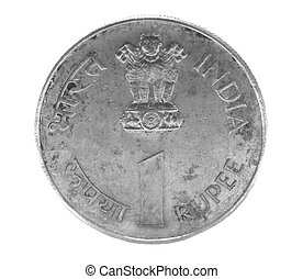one indian rupee