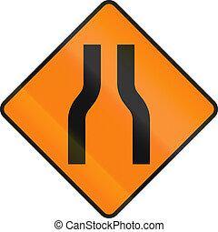 One Lane Road Ahead In Ireland - Irish temporary road ...