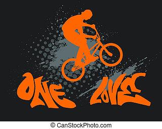 One love biking