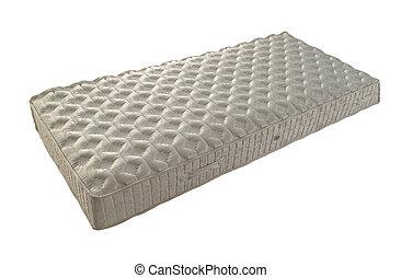 mattress - one mattress isolated on white
