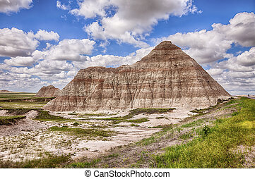 One Mountain In The Badlands