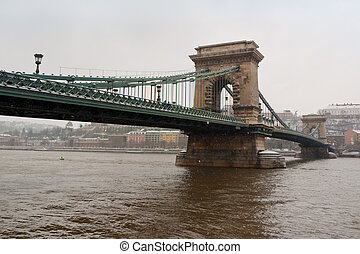 One of Budapest bridges