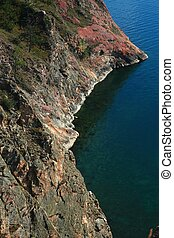 one of capes on the Baikal lake