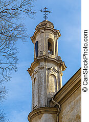 One of the Holy Trinity church towers