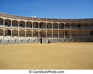 Bullfighting arena - One of the most famous Bullfighting...