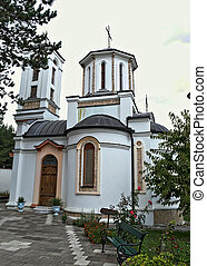 One of the small Churches in Serbian monastery
