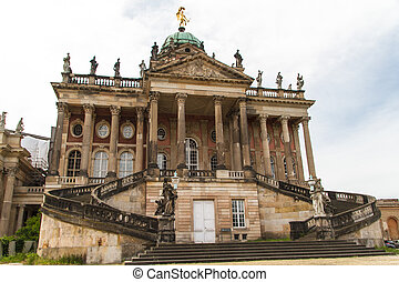 One of the university buildings of Potsdam