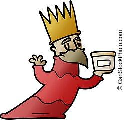 one of three wise men cartoon