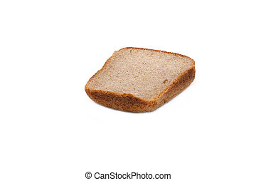 One piece of the pumpernickel