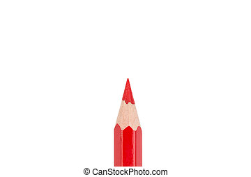 One red pencil