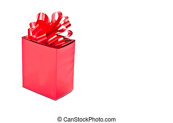 One red present