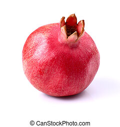 One ripe pomegranate
