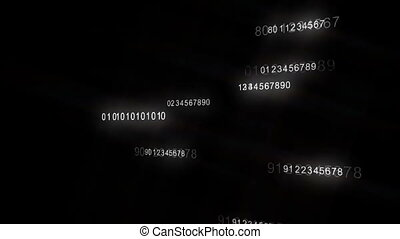 numbers - one side of numbers