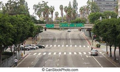 One Ten Freeway Entrance Timelapse