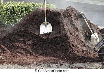 One Unit of Hemlock Bark Dust