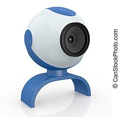 webcam - one webcam, used for internet communications (3d...